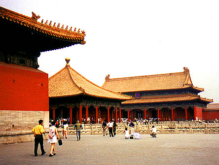 temple after temple in                   the Forbidden City